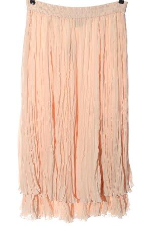 Alba Moda Plisowana spódnica nude W stylu casual