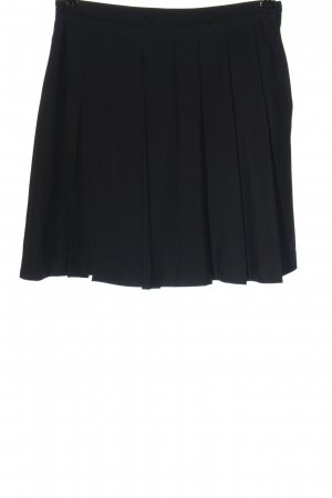 Alba Moda Plisowana spódnica czarny W stylu casual