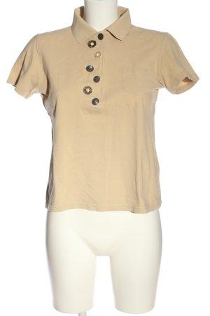 Alba Moda Polo shirt wolwit casual uitstraling
