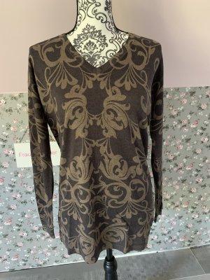 Alba Moda Długi sweter Wielokolorowy