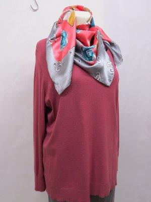 Alba Moda Jersey largo rosa metal