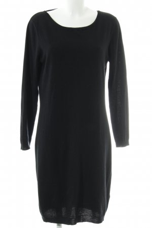 Alba Moda Pulloverkleid schwarz Elegant