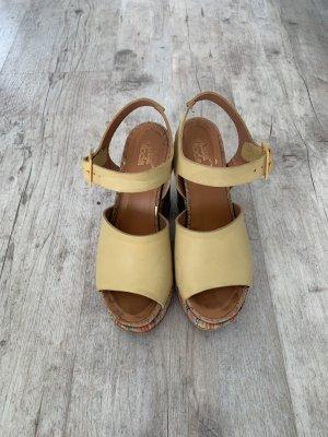 Alba Moda Platform Sandals multicolored