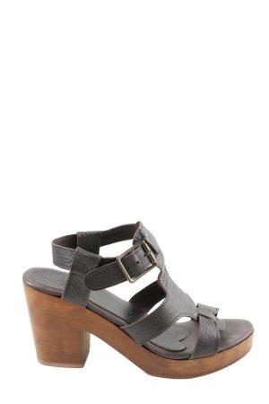 Alba Moda Sandalo con cinturino e tacco alto nero stile casual
