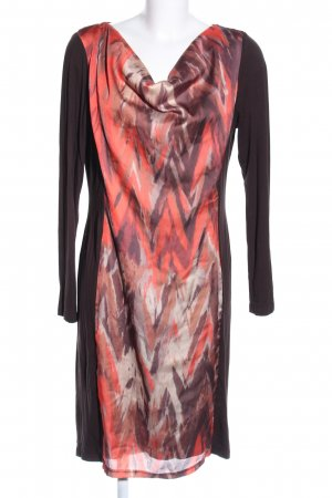 Alba Moda Tube Dress abstract pattern casual look