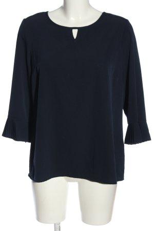Alba Moda Slip-over Blouse blue casual look