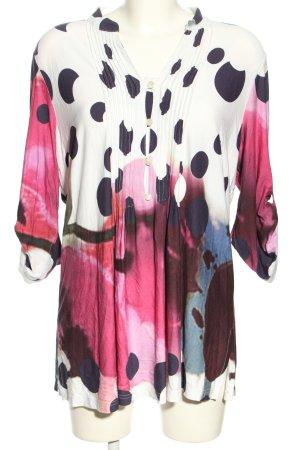 Alba Moda Blusa caída estampado con diseño abstracto look casual