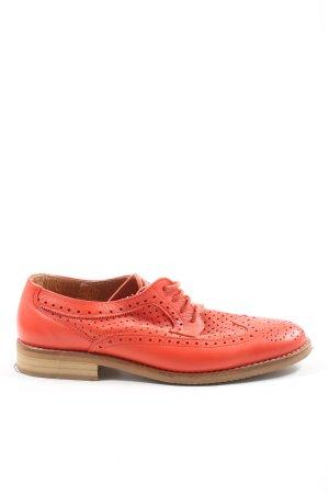 Alba Moda Scarpa stringata rosso stile casual