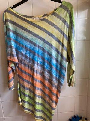 Alba Moda Lang shirt veelkleurig Polyester