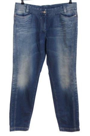 Alba Moda Slim Jeans blau Casual-Look