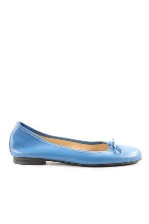 Alba Moda Slingback Ballerinas blau Casual-Look