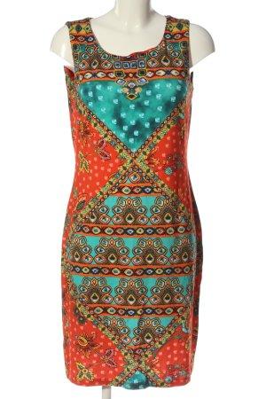 Alba Moda Letnia sukienka Abstrakcyjny wzór W stylu casual