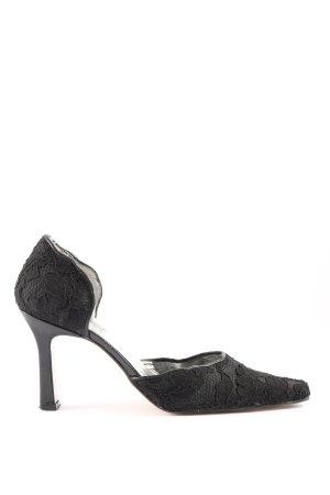 Alba Moda Spitz-Pumps schwarz Elegant