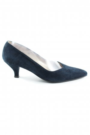 Alba Moda Spitz-Pumps blau Business-Look