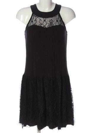 Alba Moda Koronkowa sukienka czarny Elegancki