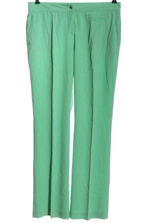 Alba Moda Jersey Pants green casual look