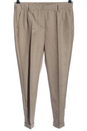 Alba Moda Jersey Pants cream flecked business style
