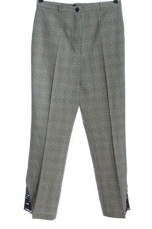 Alba Moda Jersey Pants black-white allover print business style