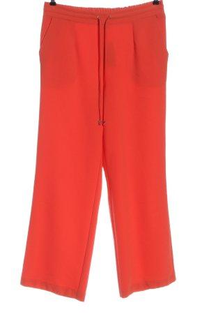 Alba Moda Jersey Pants red casual look