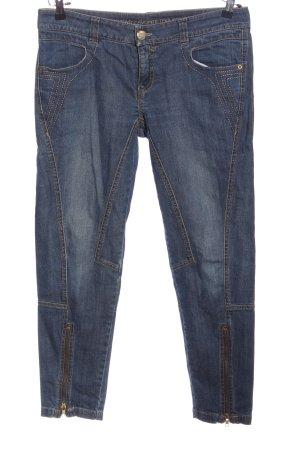 Alba Moda Jeansy z prostymi nogawkami niebieski W stylu casual
