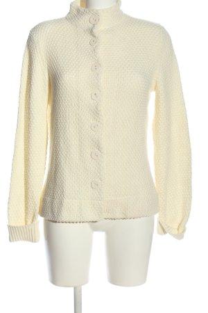 Alba Moda Kardigana z dzianiny w kolorze białej wełny W stylu casual