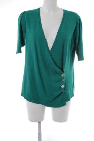 Alba Moda Strick Cardigan mint-grün Casual-Look