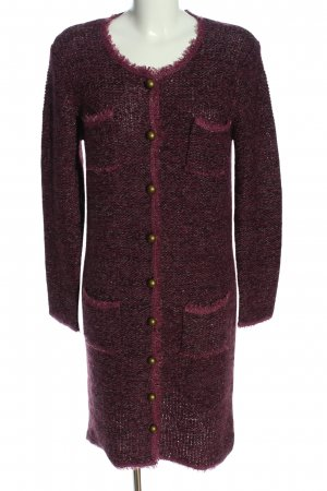 Alba Moda Knitted Coat red casual look