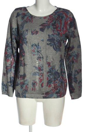 Alba Moda Maglione lavorato a maglia stampa integrale stile casual
