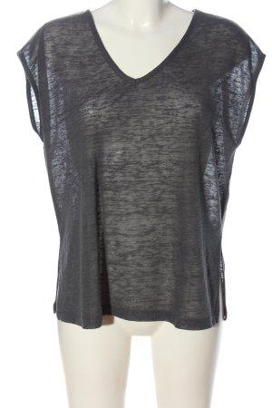 Alba Moda Smanicato lavorato a maglia grigio chiaro stile casual