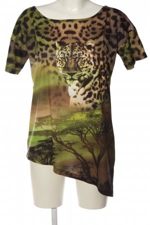 Alba Moda T-shirt Stampa a tema stile casual