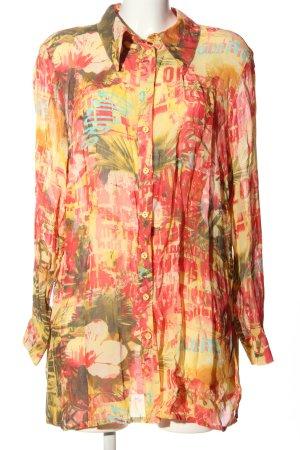 Alba Moda Transparentna bluzka Na całej powierzchni W stylu casual