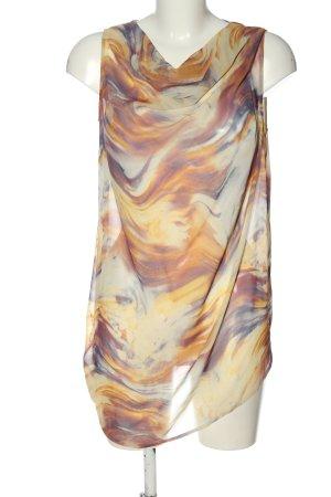 Alba Moda Blusa trasparente multicolore stile casual