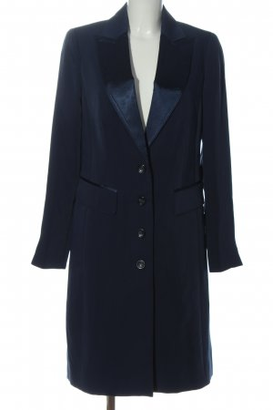Alba Moda Abrigo de entretiempo azul look casual