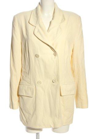 Alba Moda Płaszcz przejściowy bladożółty W stylu casual