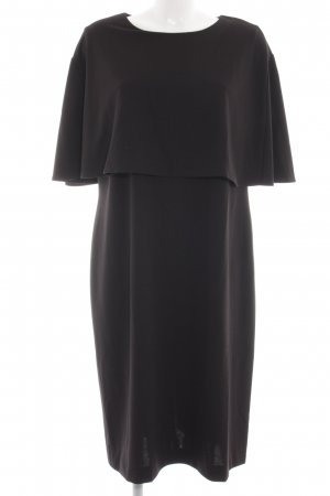 Alba Moda Volantkleid schwarz Business-Look
