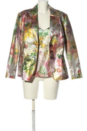 Alba Moda Podwójny zestaw ze splotu siatka Na całej powierzchni W stylu casual
