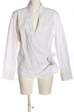 Alba Moda Camicetta aderente bianco stile casual