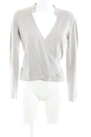 Alba Moda Veste cache-coeur gris clair style décontracté