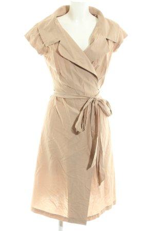 Alba Moda Robe portefeuille crème élégant