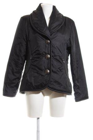 Alba Moda Giacca invernale nero motivo trapuntato stile casual