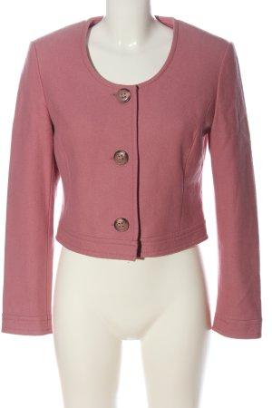 Alba Moda Wollen blazer roze casual uitstraling