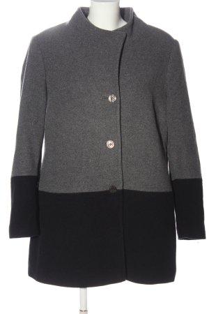 Alba Moda Wool Coat light grey-black flecked casual look