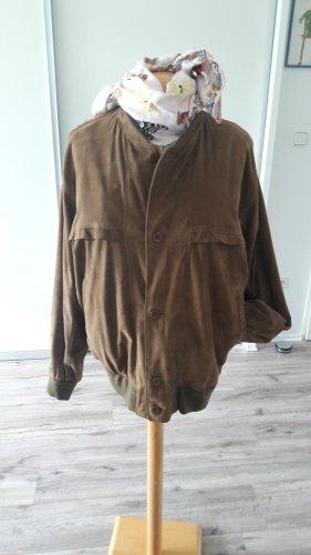 Alba Moda Veste en cuir brun