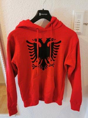 Albanien pullover rot