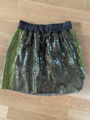 Alberta Ferretti High Waist Skirt multicolored