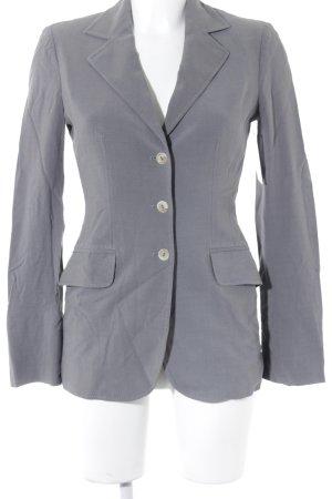 Alberta Ferretti Boyfriend blazer grijs zakelijke stijl