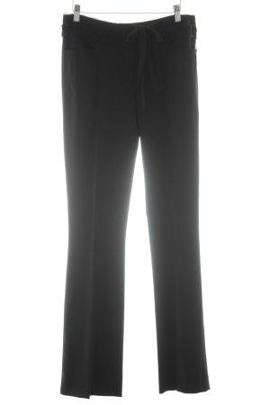Alberta Ferretti Spodnie z zakładkami czarny W stylu biznesowym