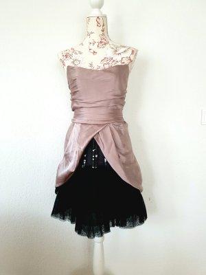 Alberta Ferretti Sukienka koktajlowa czarny-bladofiołkowy
