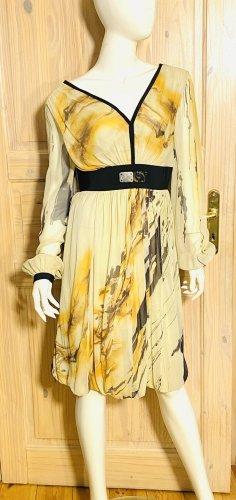 Alberta Ferretti Chiffon jurk veelkleurig Zijde