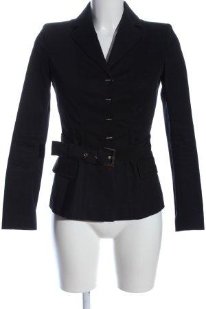Alberta Ferretti Krótki płaszcz czarny W stylu casual